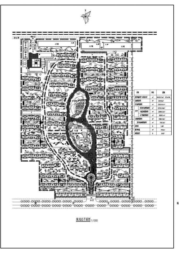 184330.12平米小区规划设计图-图一