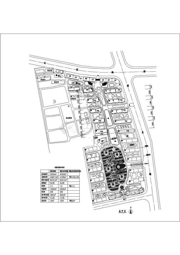 32000平米小区规划设计图-图一