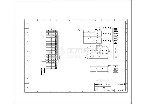 某220kV变电站全套电气原理图纸cad-图一