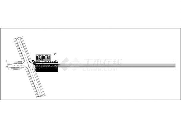 某滨海公路景观设计CAD施工图(含JPG效果图)-图一