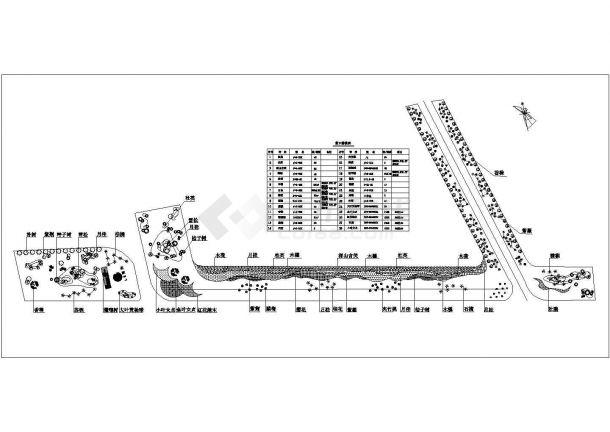 某滨海公路景观设计CAD施工图(含JPG效果图)-图二