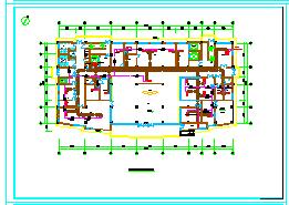 [安徽]高层医疗保健综合建筑空调通风及防排烟系统设计施工图纸-图一
