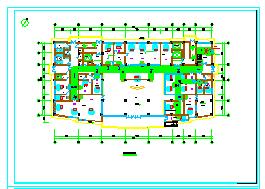 [安徽]高层医疗保健综合建筑空调通风及防排烟系统设计施工图纸-图二