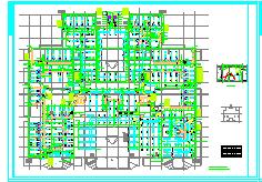 [湖北]多层门诊住院楼空调通风及防排烟系统设计施工图(大院出品)-图二