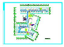 [湖南]医院急诊及住院楼通风空调系统设计施工图纸-图二