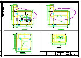 [浙江]高层医院空调通风及防排烟系统设计施工图纸(人防设计)-图一