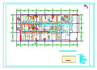动物疾控中心空调通风及防排烟系统设计施工图纸-图二