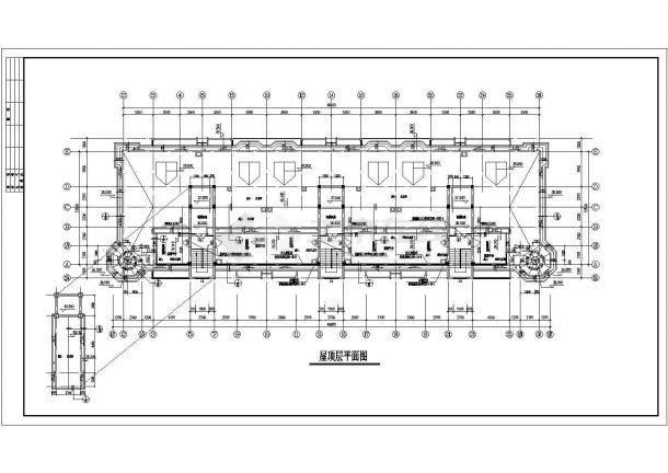 某郊区小区高层住宅建筑设计施工图-图二