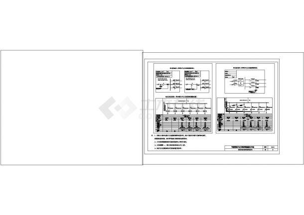火灾自动报警及消防联动控制系统cad图纸设计-图一