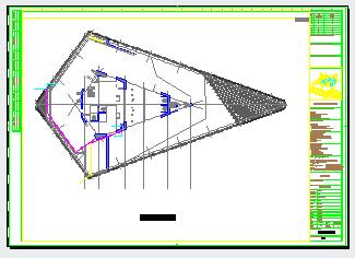 地下车库通风人防排烟系统设计施工图-图一