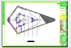 地下车库通风人防排烟系统设计施工图-图二
