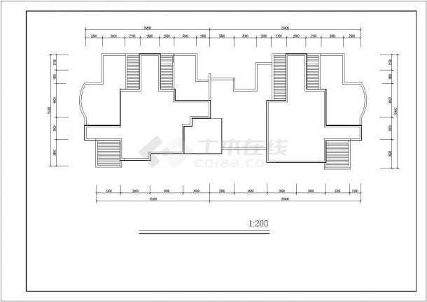 【连云港】某精品航运新村高层住宅建筑设计图纸-图二