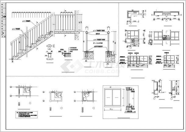 【无锡】某花园小区一多层住宅楼全套建筑设计施工图-图二