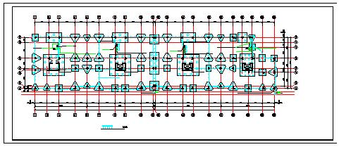 住宅全套电气CAD施工设计图-图一