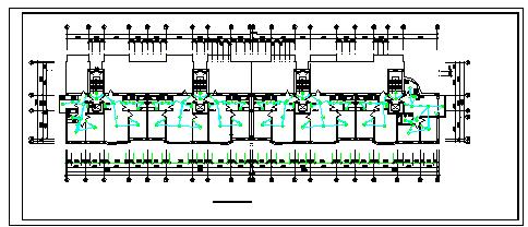 住宅全套电气CAD施工设计图-图二