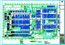 全套商场结构施工设计cad平面图纸-图二