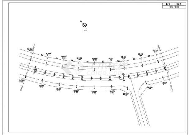 太阳能路灯建筑设计施工图-图一