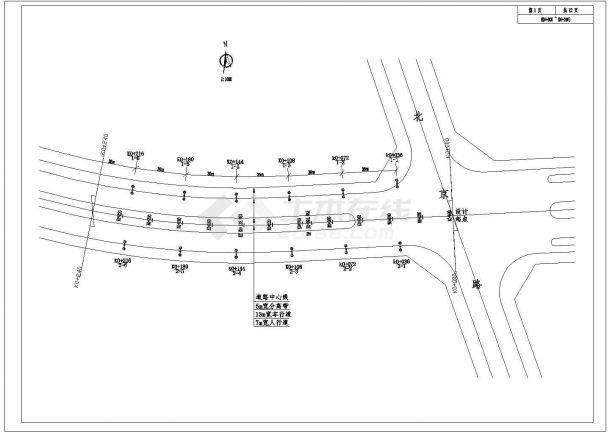 太阳能路灯建筑设计施工图-图二