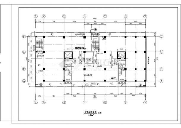 高层典雅住宅建筑设计施工图-图一