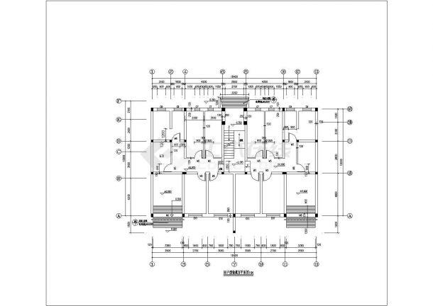 灌庄小区小区8#住宅建筑设计方案图-图一