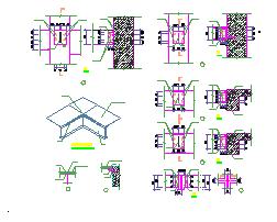 博物馆加固改造结构设计施工图-图二