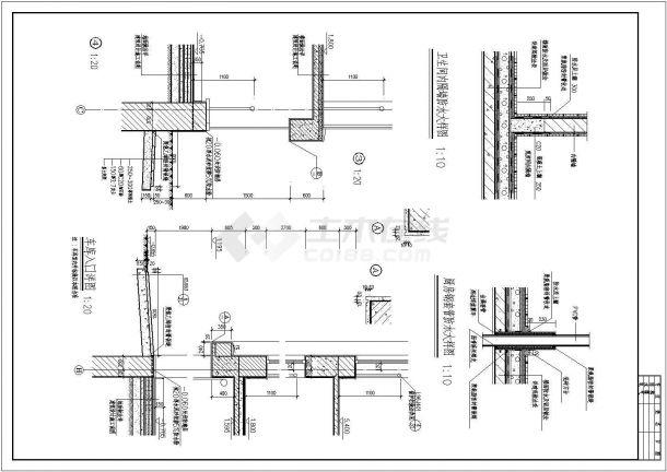 673.6平米别墅全套建筑设计施工图-图一