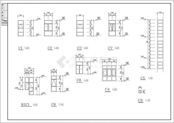 673.6平米别墅全套建筑设计施工图-图二