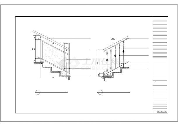 广西某酒店室内装饰工程设计施工图-图二