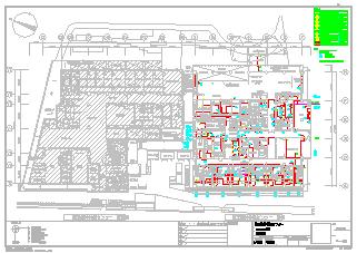 某大型医院电气设计cad施工图纸-图二
