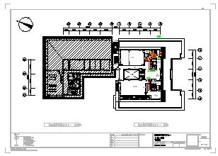某大型医院电气cad设计施工图-图一