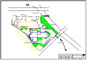 医院高压增容工程cad设计图纸-图二