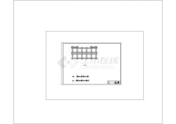 土木工程毕业设计_办公楼设计_某机械厂办公楼建筑全套毕业设计完整资料(含详细计算书、说明书)-图二