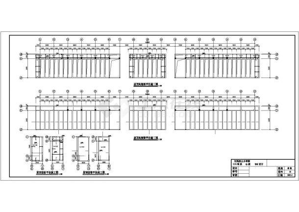 土木工程毕业设计_办公楼设计_某带构架层办公楼建筑毕业设计完整资料(含详细计算书、任务书)-图二