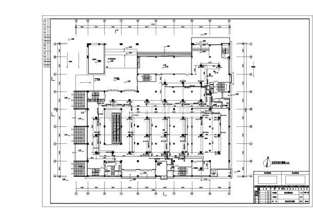 某商业街整套空调系统设计方案图-图一