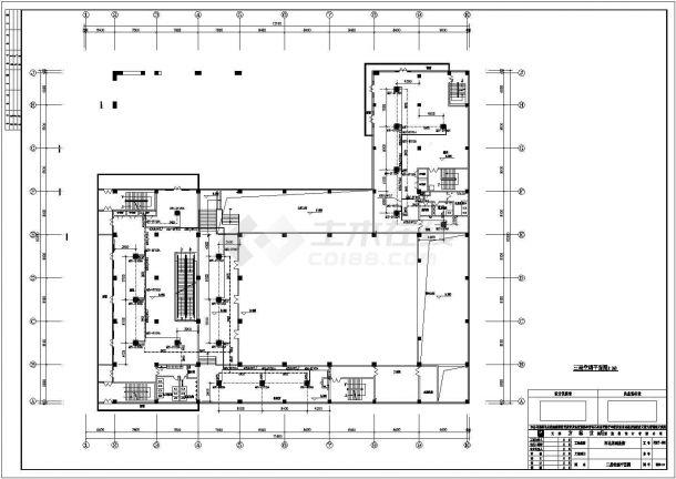 某商业街整套空调系统设计方案图-图二