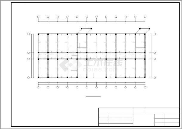 土木工程毕业设计_某框架行政办公大楼毕业设计完整资料(含详细计算书、开题报告)-图一