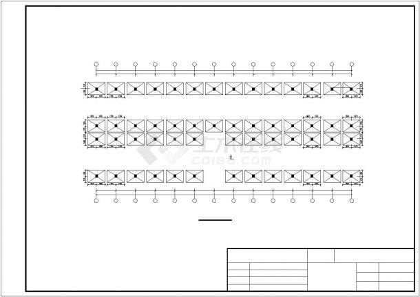 土木工程毕业设计_某框架行政办公大楼毕业设计完整资料(含详细计算书、开题报告)-图二