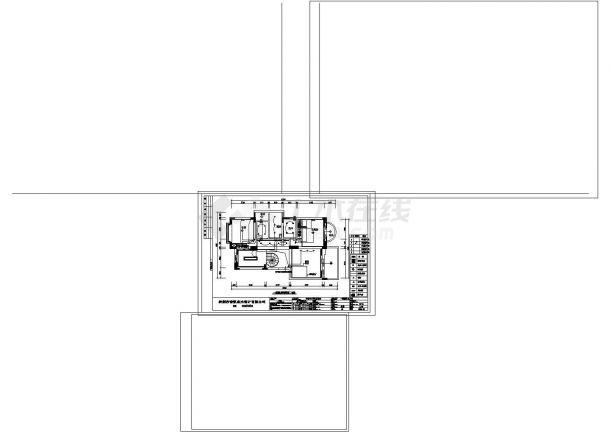 20款天花顶棚图图库大全 带剖面图线路图等CAD图纸-图二