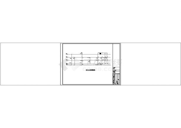 三层新农村砖混结构独栋别墅建筑结构水电设计施工图-图一
