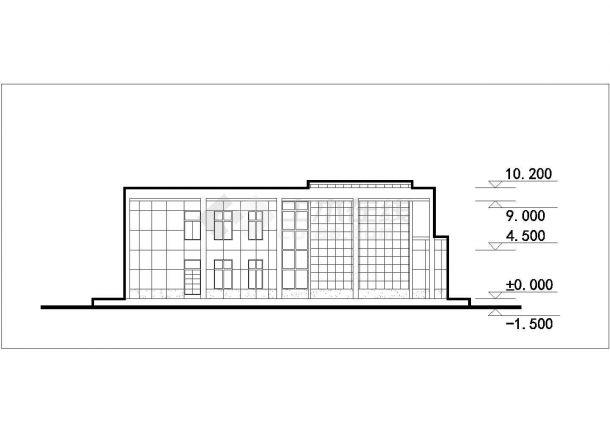 阆中市某新建小区总平面规划设计CAD图纸(含单体建筑图/7套方案)-图一