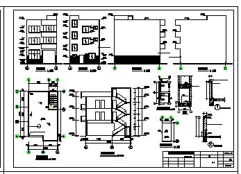 某私人住宅建筑结构cad设计施工图-图一