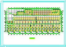 某商业铺混凝土结构工程CAD施工图-图二