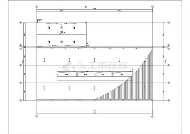 三套暖通专业设计图(党群服务中心 办事处追思堂)-图二