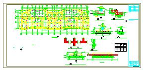 小区8层住宅楼钢筋混凝土结构施工图纸-图一