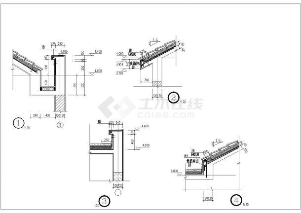 城市公共厕所锦集图纸--结构设计专业-图一