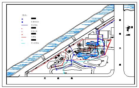 某小公园绿化设计施工cad图纸-图二