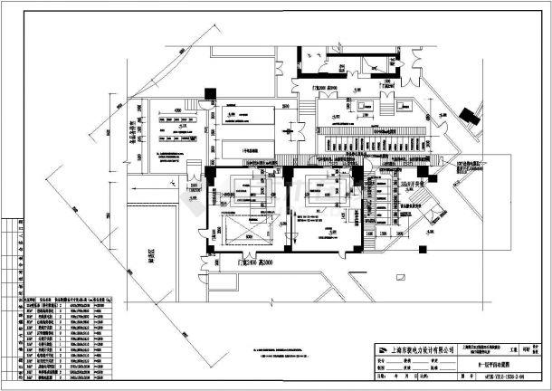 辽阳塔楼变电站底商私人住宅楼设计CAD详细建筑施工图-图一