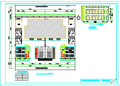 河北新农村民居设计方案cad图纸含效果图-图一