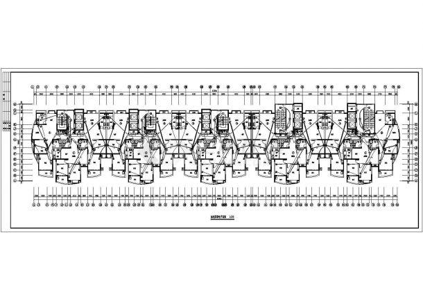 山东某小区高层电气设计图纸(全套)-图一