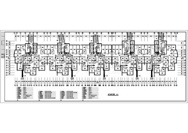 山东某小区高层电气设计图纸(全套)-图二